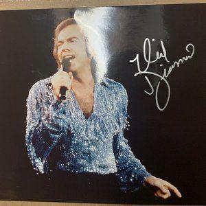 Neil Diamond Autographed Photo W/ COA